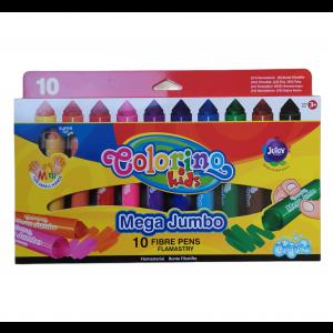 Colorino fixky 10 farieb JUMBO MEGA