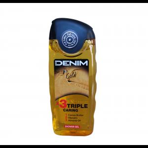 Denim sprchový gel 250 ml Gold