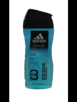 Adidas sprchový gél 250ml Ice Dive