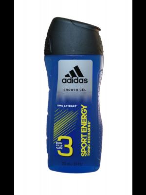 Adidas sprchový gél 250ml Sport Energy