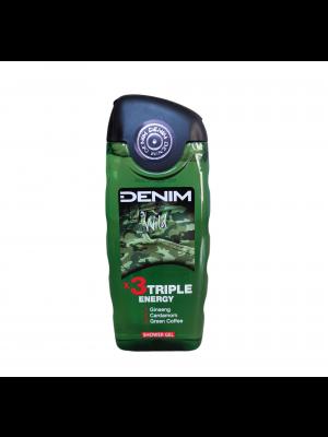 Denim sprchový gel 250 ml Wild