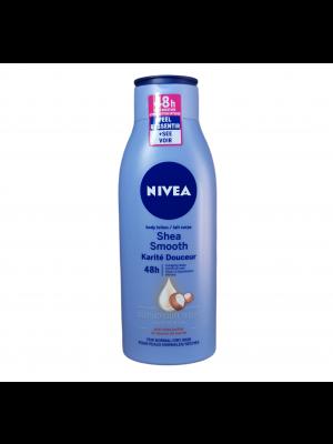 Nivea telové mlieko 400ml Shea Smooth