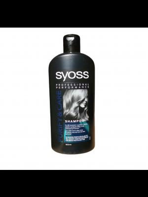 Syoss šampón na vlasy 500ml Purife